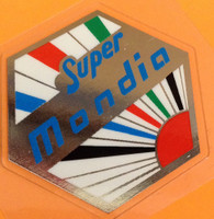 Super Mondia Head Badge Decal (sku 1261)