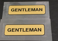 Super Competition Gentleman Rim Decals - Set of 2