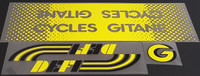 Gitane Cycles Defi Bicycle Decal Set