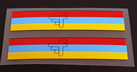 Ferago Seat Tube Colored Band Decals - 1 Pair