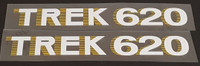 Trek 1980s Down Tube Decals  - 1 Pair (Choice of Colors)