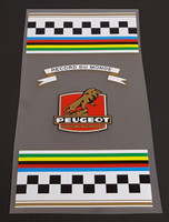 Peugeot  1960s-70s Seat Tube  Wrap Decal