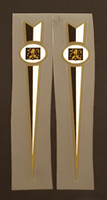 Peugeot  Fork Decals  - Long Spears  - 1 Pair