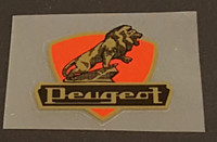 Peugeot  Head Badge Decal - Lion/Shield