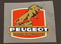 Peugeot  Head Badge Decal - Large