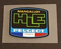 Peugeot  Mangalloy HLE Tubing Decal