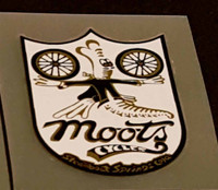 Moots Head Badge Decal