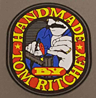 "Ritchey ""Handmade by Tom Ritchey"" Decal"