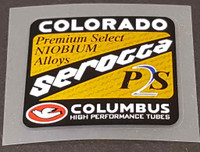 Serotta Colorado P2S Tubing Decal
