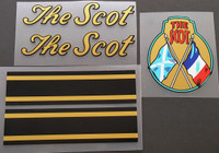 The Scot Bicycle Decal Set