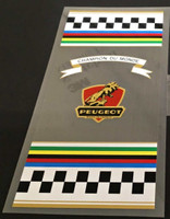 Peugeot  1969 Seat Tube  Wrap Decal