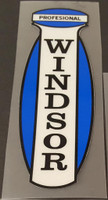Windsor Professional Head Badge Decal - Reflective Vinyl