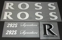 Ross Decal Set (sku 991)