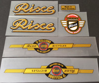 Rixe Bicycle Decal Set (sku 785)