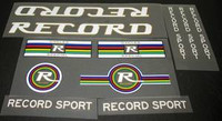 Record Sport Decal Set of 11 (sku 764)