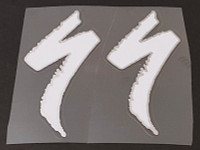 Specialized Logo Badge Decals - 1 Pair Cut Vinyl - Medium - Choose Color