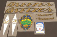 Breezer Venturi Bicycle Decal Set