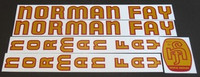 Norman Fay Decal Set (sku 868)