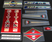 Gitane Grand Sport Bicycle Decals