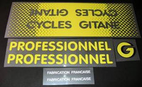 Gitane Professionnel/Record Decal Set of 6 (sku 436)