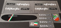 Gios Compact Signature Bicycle Decal Set