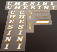 Chesini X-Uno Bicycle Decal Set