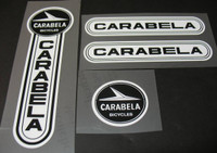 Carabela Bicycle Decal Set