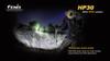 Fenix HP30 LED Headlamp 900 Lumen Burst Mode