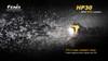 Fenix HP30 LED Headlamp Underwater
