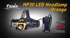 Fenix HP30 LED Headlamp Orange