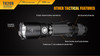 Fenix TK20R Rechargeable Tactical Flashlight Body
