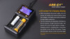 Fenix ARE-C1+ Smart Battery Charger LCD screen