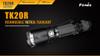 Fenix TK20R Rechargeable LED Tactical Flashlight - RETURN