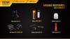 Fenix TK20R Rechargeable LED Tactical Flashlight - REFURB