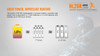 Fenix HL26R LED Running Headlamp Battery Comparison