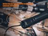 Fenix TK65R Rechargeable LED Flashlight Charging