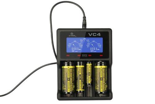 XTAR VC4 Charger from Velvet Vapors