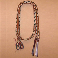 "Braided Split Reins 9/16"" by Double Diamond Halters #4800"