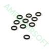 Amped Custom - Replacement O-Ring for Tippmann/Ninja Slide Check Female Coupler Seal (Set of 10)