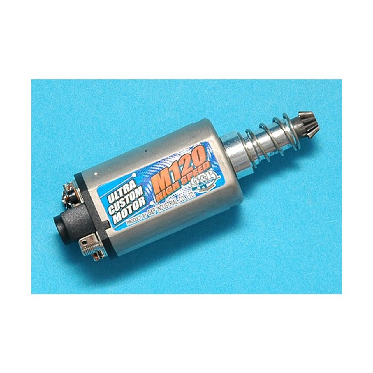G p m120 hi speed motor long amped airsoft for High speed motors inc