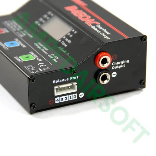 Tenergy - B450AC Compact Balance Charger for NiMH/Nicd/Lipo Packs Balance Port View