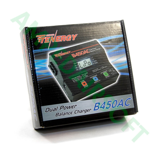Tenergy - B450AC Compact Balance Charger for NiMH/Nicd/Lipo Packs Packaging