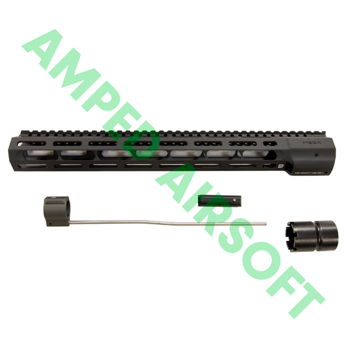 "PTS - Mega Arms Wedge Lock Handguard 14"" (Black) Full Kit with Accessories"