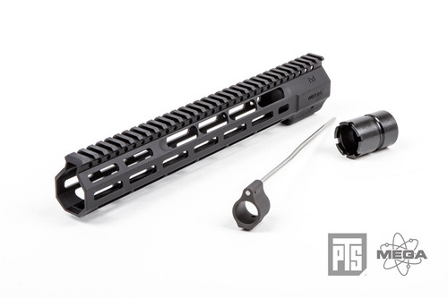"PTS - Mega Arms Wedge Lock Handguard 12"" (Black) Kit"