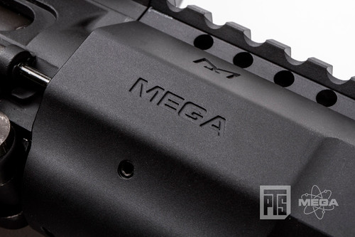 "PTS - Mega Arms Wedge Lock Handguard 12"" (Black) Trademarks"