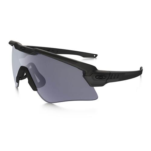 oakley si ballistic m frame alpha matte black frame w grey lens