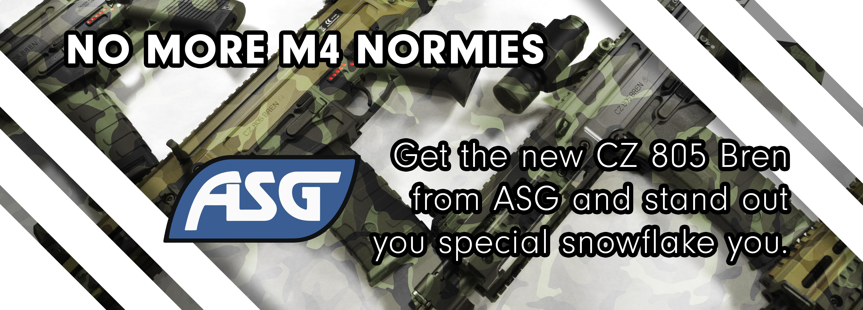 ASG CZ 805 BREN Rifles