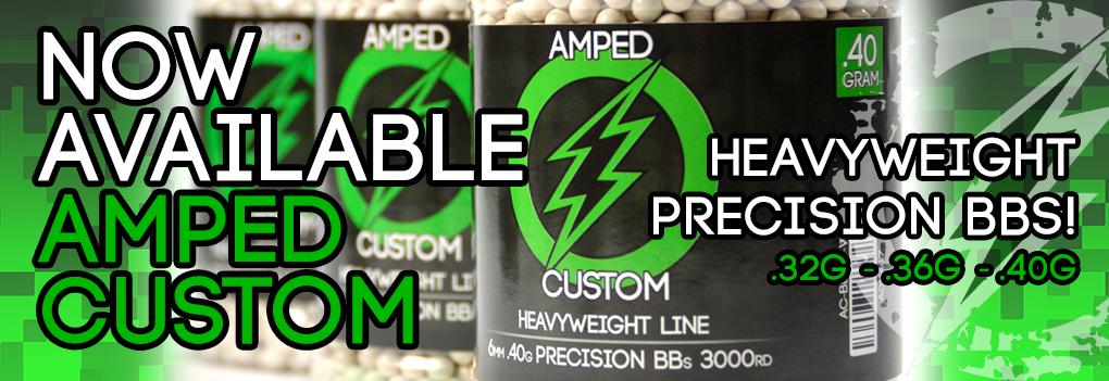 Amped Custom Heavy Weight BBs