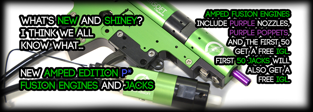 Polarstar Airsoft Amped Custom Fusion Engine and Jack for V2 / M4