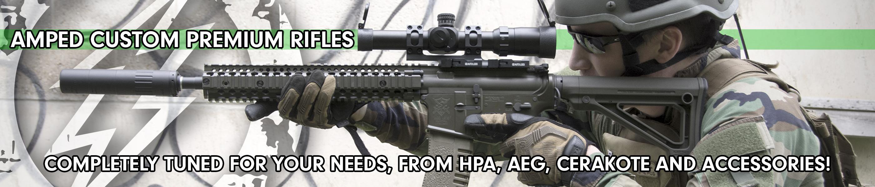 Custom Cerakote Rifles!